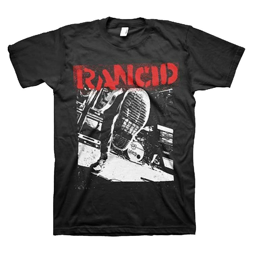 Rancid Boot T-Shirt Operation Ivy Punk Rock concert tee