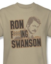 Ron F***ing Swanso T-shirt funny Parks Recreation printed cotton tee NBC197 - $19.99 - $25.99