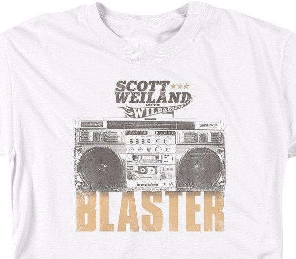 Scott Weiland Blaster T-shirt 100% cotton graphic concert music tee SWD102