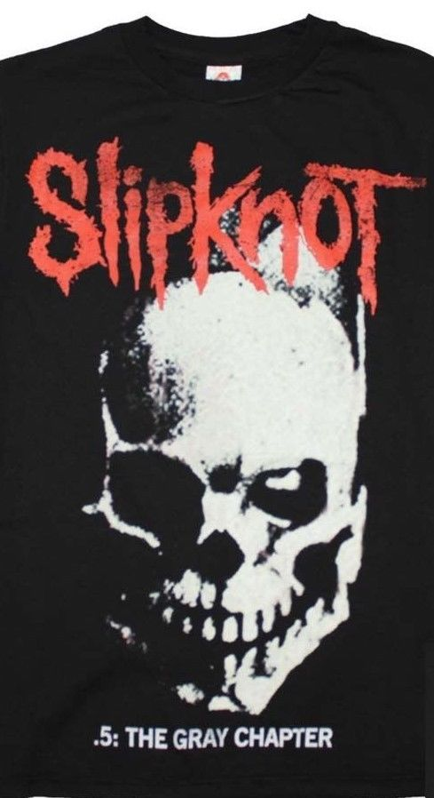 Slipknot T-Shirt 90's Alternative heavy metal concert graphic black cotton tee