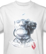 Star Trek Borg Head T-shirt retro 70's Sci-Fi cotton graphic tee CBS547 image 1