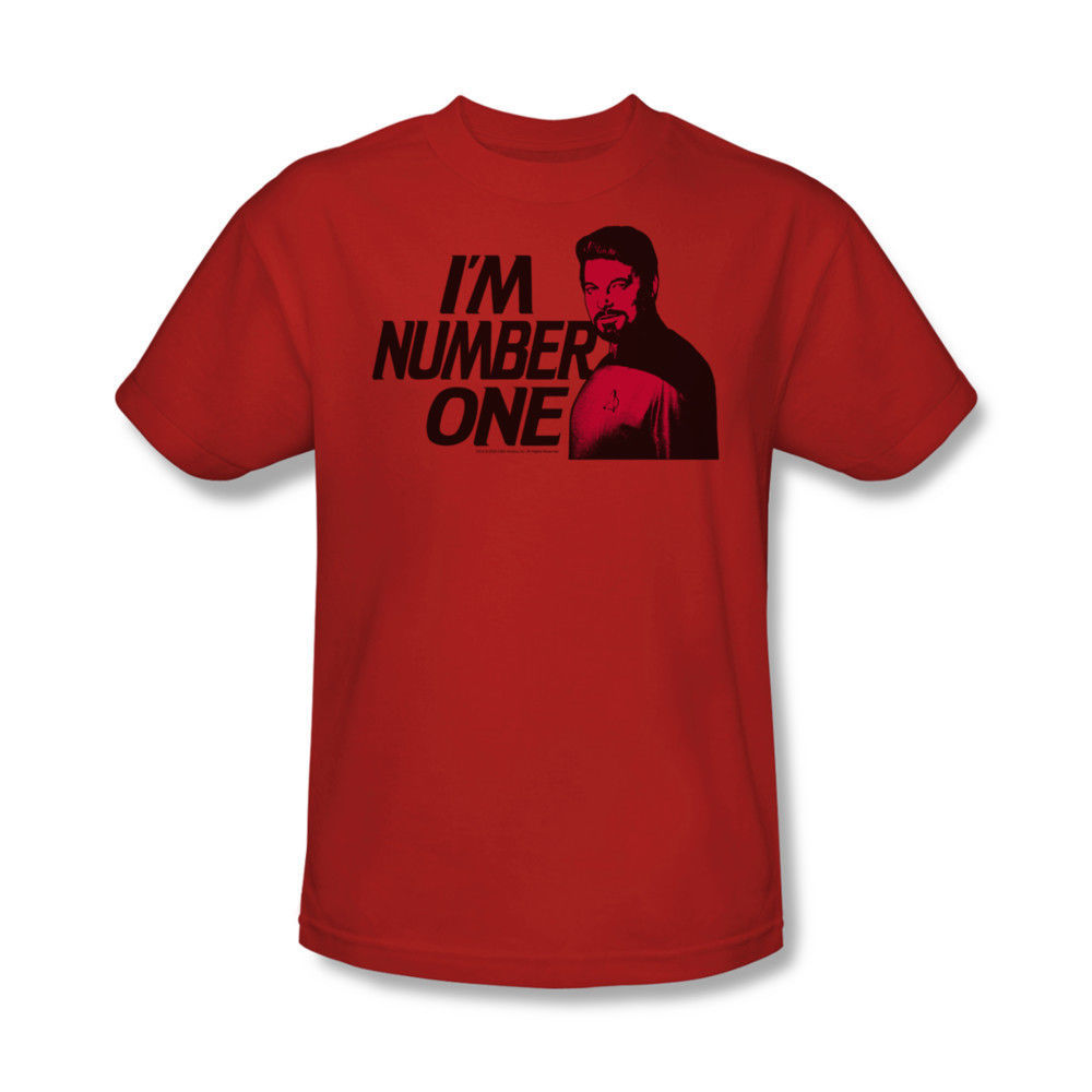 Star Trek I'm Number One T-shirt graphic printed cotton Kirk Spock tee CBS154