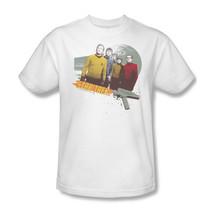 Star Trek Original Crew T shirt retro 70's sci-fi cotton graphic tee CBS351 image 2