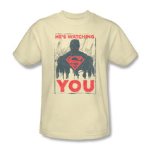 Superman Is Watching You T-shirt DC comic Superhero graphic cotton tee SM1944 - $19.99 - $25.99