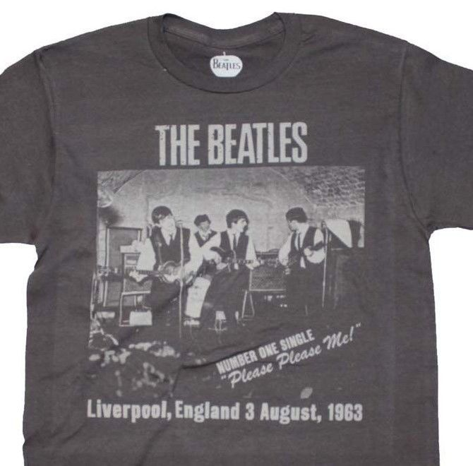 The Beatles T-Shirt retro vintage Lennon McCartney graphic printed cotton tee