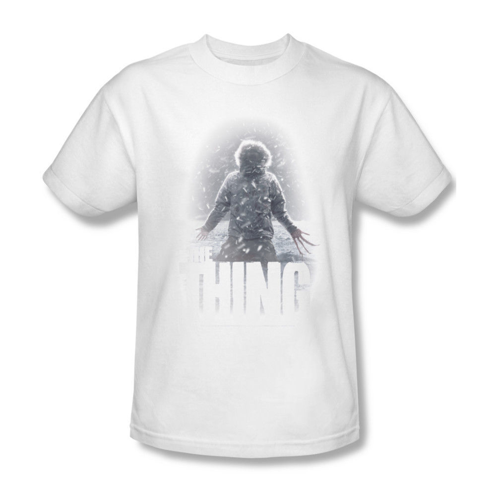 The Thing Snow Thing T-shirt retro horror sci-fi movie cotton graphic tee UNI156