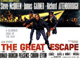 The Great Escape T shirt Steve McQueen retro 70's classic movie cotton tee image 2