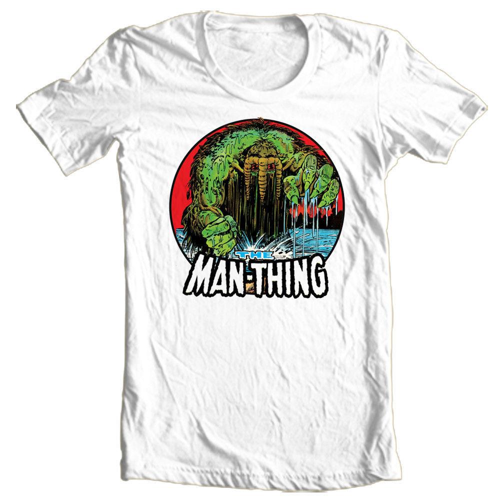 The Man-Thing T-shirts Marvel Comics The Thing Hulk Howard the Duck Nick Fury