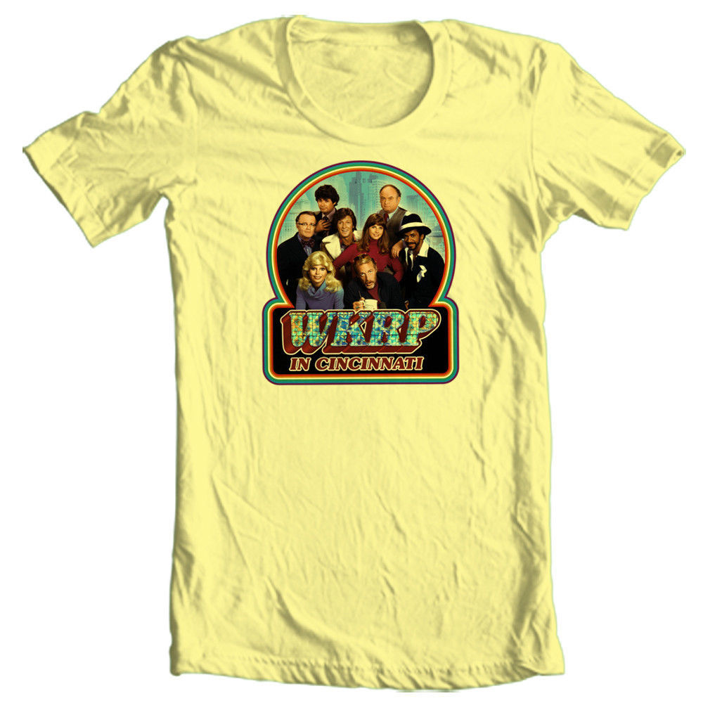 WKRP in Cincinnati T shirt 70's 80's retro Disco rock TV Land cotton graphic tee