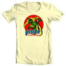 Vision Marvel Comics t shirt The Avengers Thor Captain America Hulk graphic tee image 1