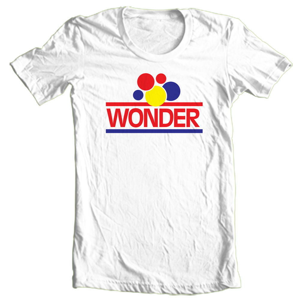 Wonder Bread T-shirt retro Matthew McConaughey Ed TV retro brand cotton tee