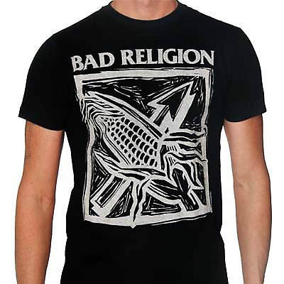 Bad Religion T shirt Against The Grain cool punk retro 80's skate graphic t-shir