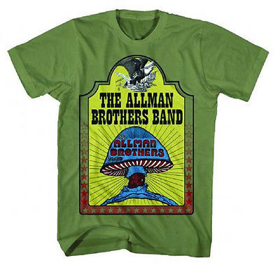 Allman Brothers Hell Yeah T Shirt Classic Southern Rock and Roll concert tee