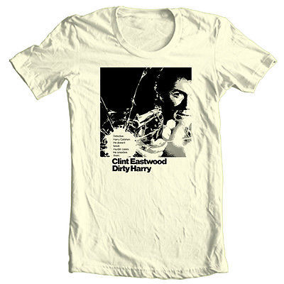 Dirty Harry T shirt Clint Eastwood retro 70's Good Bad Ugly 4XL 5XL cotton tee