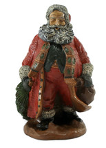 Old World Santa Claus Tree Bag of Goodies Figurine Collectible  - $24.50