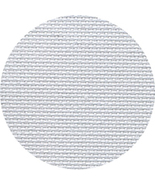 Grey 20ct Aida 36x22 cross stitch fabric Zweigart - $18.00