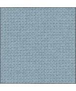 25ct Water Sapphire Lugana evenweave 36x55 cross stitch fabric Zweigart - $48.60