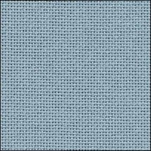 25ct Water Sapphire Lugana evenweave 36x27 cross stitch fabric Zweigart - $24.30