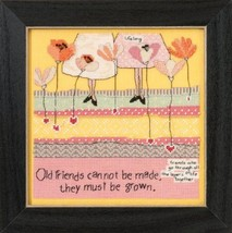 Old Friends Curly Girl 2015 Everyday Series cross stitch kit Mill Hill - $16.20