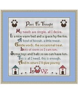 Paws For Thoughts Dogs cross stitch chart Stitchers Anon Designs - $9.00