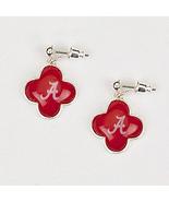 Alabama Quatrefoil Logo Earrings - $12.95