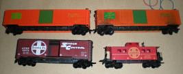 HO trains  Three Box Cars & 1 Caboose - $14.90