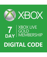 7-day{1 week} Xbox 360/ONE Live trial Gold Memb... - $5.33
