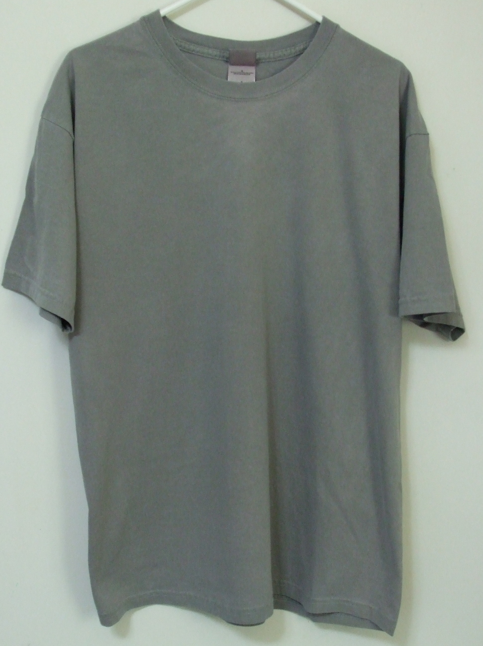 Mens NWOT District Threads Gray Short Sleeve T Shirt Size L District Threads