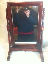 Nice Old Mahogany Shaving Mirror (Free Local De... - $48.00