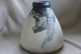 Antique Circa Early 1900's Weller Hudson Squat Vase - $290.00