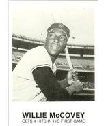 1984 willie mccovey san francisco giants renata galasso baseball card - $2.50