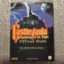 Castlevania: Symphony of the Night: PlayStation PS1 Official Guide - Brady Games - $133.00