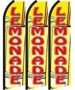 Lemonade Standard Size  Swooper Flag banner  sign pk of 3 - $45.00