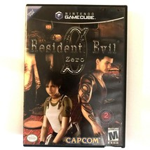 Nintendo Gamecube Resident Evil Zero 2002 Complete Case & Manual Horror - $29.69