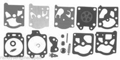 Walbro K20-WAT WA WT Carburetor Carb Kit Gasket Diaphragm Needle Welch Plug Arm