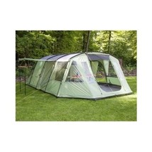 Large Family Camping Tent 4 Person Sun Shade Tunnel Canopy Berth Outdoor... - $578.78