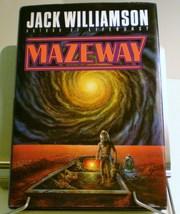 Mazeway by Jack Williamson HC DJ First Edition Sci-Fi 1990 - $6.50