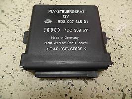 OEM STEERING COLUMN HEIGHT ADJUSTMENT MODULE 4D0909611 AUDI A6 A8 ALLROA... - $34.65