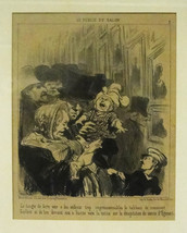 "Honore Daumier ""The Danger of Showing Impressio... - $200.00"