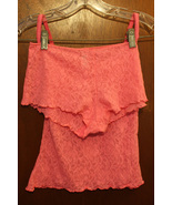 Maidenform 2 Piece Pink Lace Sleepwear - Top: 32 Bottoms:5 - $12.99