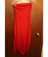 Wet Seal Red Strapless Dress - Size Juniors Small - $12.99