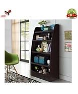 Kids Bedroom Bookcase Bookshelf Children Storage Organizer Furniture Esp... - $168.99