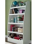 Kids Bedroom Bookcase Bookshelf Children Storage Organize Books Toys White - $168.99