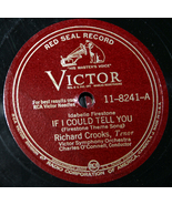 """Richard Crooks """"If I Could Tell You & On Wings Of Song""""   78 - $5.00"""