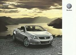 2010 Volkswagen EOS sales brochure catalog US 10 VW 2.0T Komfort Lux - $8.00