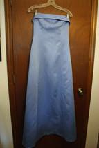 After Six Cinderella Blue Strapless Full Length Dress - $21.99