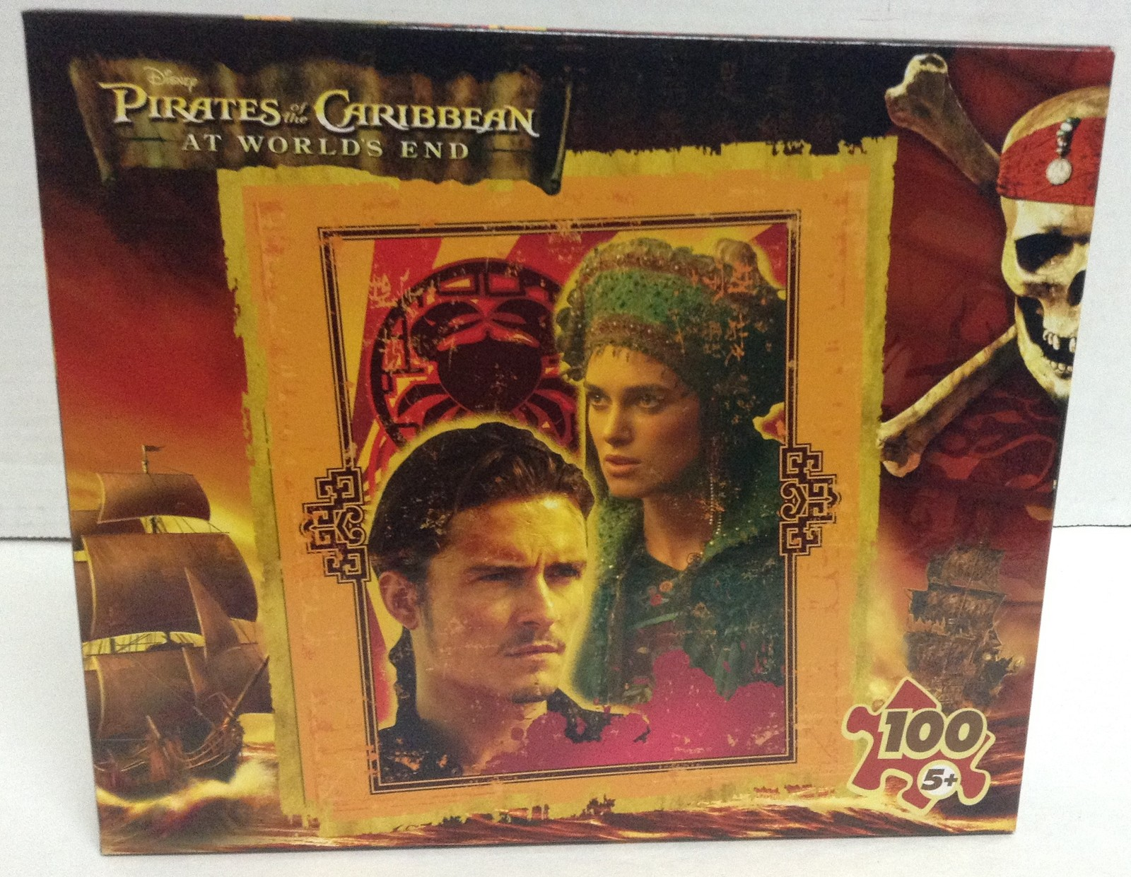 Disney Pirates of the Caribbean AT WORLDS END NIB Puzzle Sealed