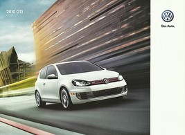 2010 Volkswagen GTI sales brochure catalog US 10 VW 2.0T - $10.00