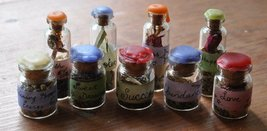 ONE SPELL VIAL OF CHOICE MANY SPELLS SEALED BOTTLES WITCH Cassia4  - $25.00