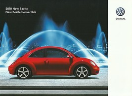2010 Volkswagen NEW BEETLE brochure catalog US 10 VW - $9.00